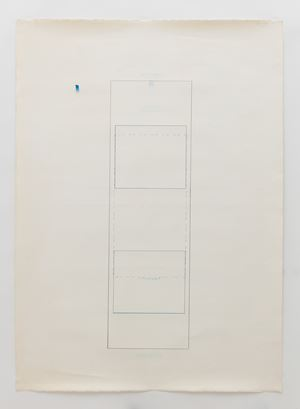 Elevator Drawing by Michael Brewster contemporary artwork