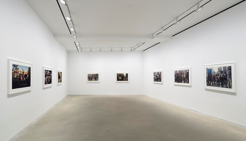 Exhibition view: Philip-Lorca diCorcia, David Zwirner, Hong Kong (10 September–12 October 2019). Courtesy David Zwirner.
