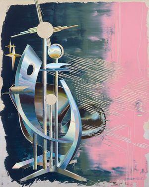 Swan Swirl Chair #2 by Cui Jie contemporary artwork