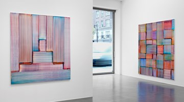 Contemporary art exhibition, Bernard Frize, Blackout in the Grid at Simon Lee Gallery, London