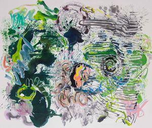 500 Brushstrokes #61 五百笔 #61 by Wu Jian'an contemporary artwork