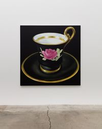 Teacups #10 by Robert Russell contemporary artwork painting