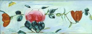Flowers of Spring 鳥語花香 by Fu-sheng Ku contemporary artwork