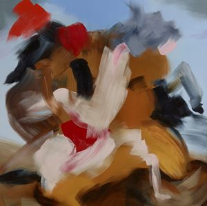 Dioscuri Consensual by Elise Ansel contemporary artwork