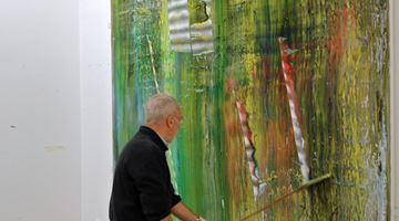 Contemporary art exhibition, Gerhard Richter, Cage Paintings at Gagosian, Beverly Hills