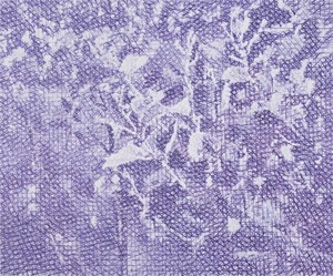 Purple Scenery 171120 紫色的風景171120 by Jeng Jundian contemporary artwork