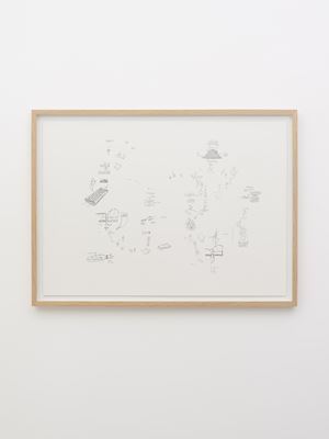 Le lieu (zolla 3) by Gianfranco Baruchello contemporary artwork