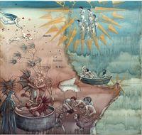 Matariki by Roger Mortimer contemporary artwork painting