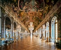 Versailles, Hall of Mirrors by Ahmet Ertug contemporary artwork photography