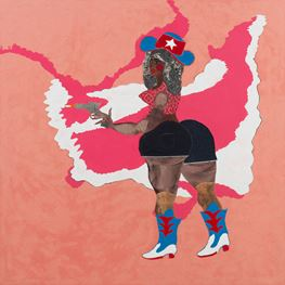 Tschabalala Self contemporary artist