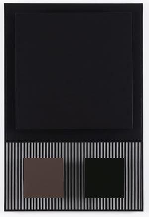 Carré noir by Jesùs R. Soto contemporary artwork