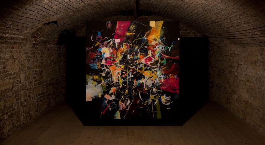 Exhibition view: Group Exhibition,SIX SOLO SHOW, Galerie Krinzinger,Krinzinger Projekte, Vienna (19 February–20 March 2021). CourtesyGalerie Krinzinger.