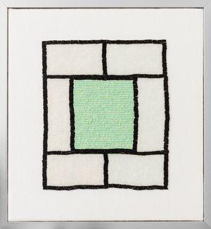 Mibar Window by Erica van Zon contemporary artwork sculpture, textile