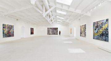 Contemporary art exhibition, Mark Bradford, Masses and Movements at Hauser & Wirth, Menorca, Spain