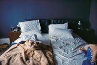 Empty beds, Boston by Nan Goldin contemporary artwork photography