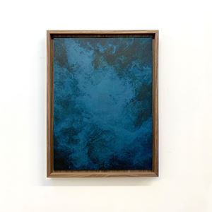 Akui Gawa Indigo #1 by Kim Boske contemporary artwork