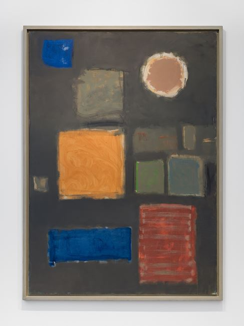 Big Grey - with Disc : June - September 1959 by Patrick Heron contemporary artwork