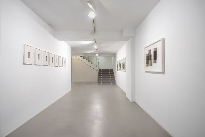 Exhibition view: Nicène Kossentini, Memorising, Sabrina Amrani, Madera, 23, Madrid (18 November 2020–16 January 2021). Courtesy Sabrina Amrani.