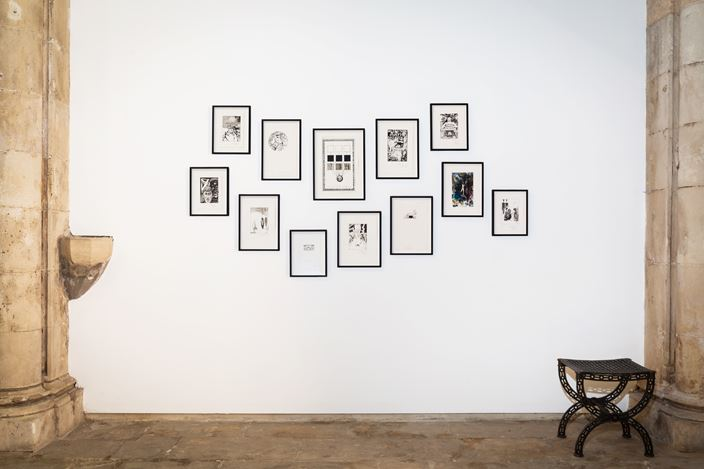 Exhibition view: Pavel Pepperstein, Animals and Supremas, KEWENIG, Palma (5 July–15 September 2018). Courtesy KEWENIG.