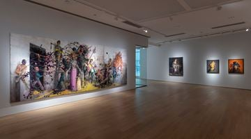 Contemporary art exhibition, Jonas Burgert, Ein Klang Lang at Tang Contemporary Art, Hong Kong