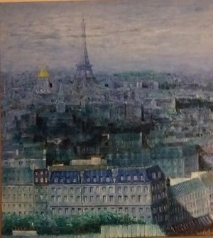 In honor of the Invalides, Paris by Robert Bourdroit contemporary artwork