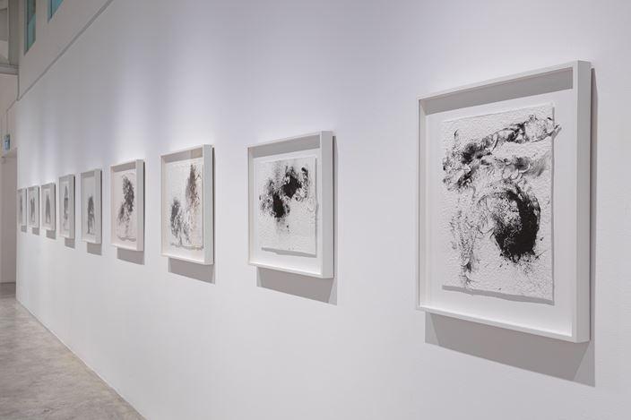 Exhibition view: Melati Suryodarmo, Memento Mori,STPI, Singapore (24 November 2019–27 January 2020).Courtesy STPI – Creative Workshop & Gallery.