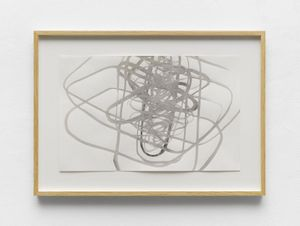 FIELD VI by Antony Gormley contemporary artwork works on paper, drawing
