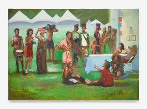 The Festival by Sylvia Maier contemporary artwork