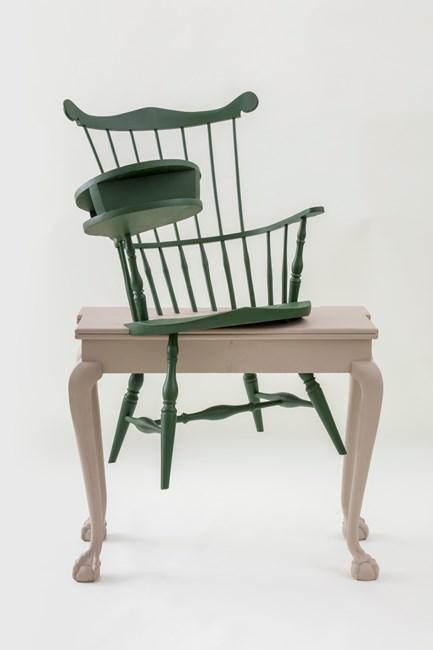 Transcendental (Wheatley's Desk, Emerson's Chair) by Sam Durant contemporary artwork
