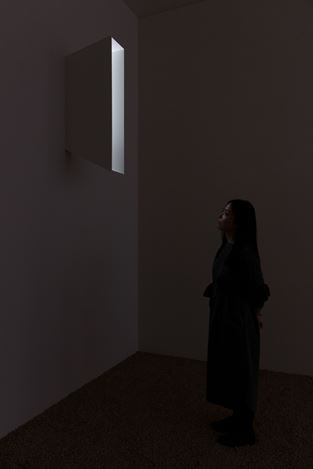 Exhibition view:Daniel Steegmann Mangrané, Fog Dog, Esther Schipper, Berlin (7 March–9 April 2020). Courtesy the artist and Esther Schipper, Berlin. Photo: Andrea Rossetti.