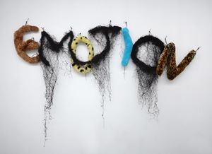 Emotion by Annette Messager contemporary artwork
