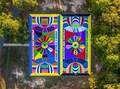 1-54 Contemporary African Art Fair Nets Lakwena Maciver Basketball Paintings