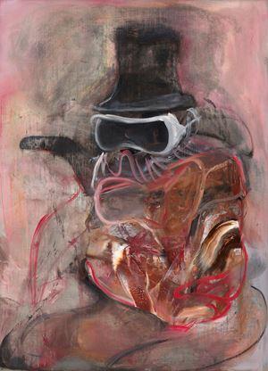 Mr Turner 2 by Adrian Ghenie contemporary artwork