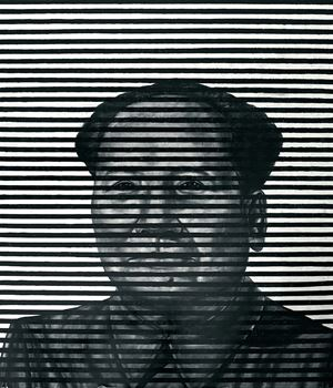 Mao Zedong #4 from Red Project by Le Brothers contemporary artwork