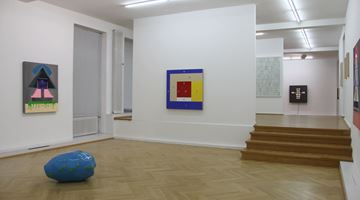 Contemporary art exhibition, Group Exhibition, visual semiotics at Bernhard Knaus Fine Art, Frankfurt