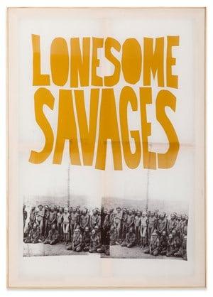 Les Enfants Sauvage by Walter Dahn contemporary artwork