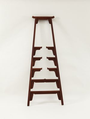 Ming Ladder - 2006, No. 6 by Shao Fan contemporary artwork sculpture