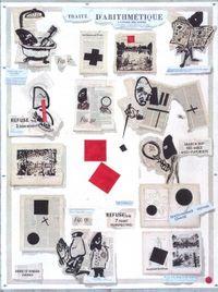 Traité d'Arithmétique by William Kentridge contemporary artwork works on paper, print