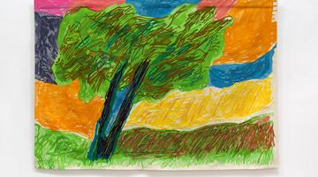 Contemporary art exhibition, Etel Adnan, Seasons at Galerie Lelong & Co. New York