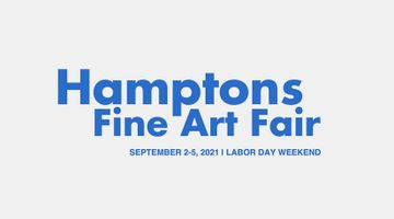 Contemporary art art fair, Hamptons Fine Art Fair at Hollis Taggart, New York, USA