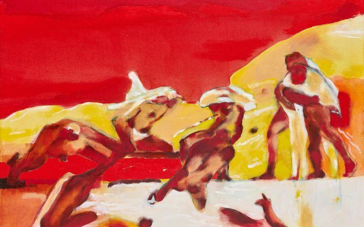 Robert Hodgins,The Battle of Cascina II (2006) (detail). Courtesy Goodman Gallery.