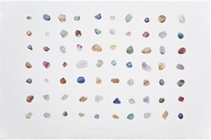 Painting is Collecting – Stones No.16 by Guo Hongwei contemporary artwork
