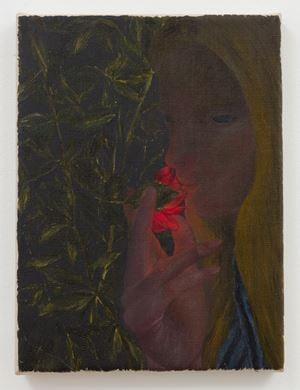 Glowing Rose by Srijon Chowdhury contemporary artwork