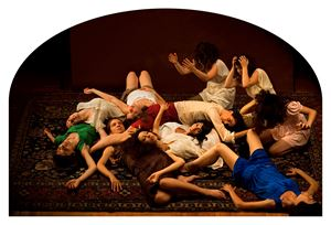 Lamentations by Nazif Topçuoğlu contemporary artwork