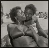 Mother and Daughter. Brighton Beach, New York by Rosalind Fox Solomon contemporary artwork photography, print