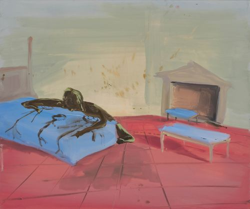 Untitled by Tala Madani contemporary artwork