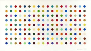 Tetrahydrocannabinol by Damien Hirst contemporary artwork