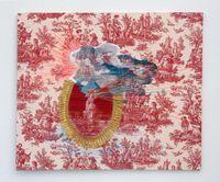 Silver Linings by Suchitra Mattai contemporary artwork textile