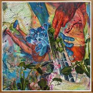 The Anchor by Ronson Culibrina contemporary artwork painting, mixed media
