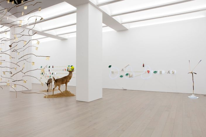 Exhibition view: Gabriel Rico, Of Beauty and Consolation, Perrotin, New York (29 April–5 June 2021). Courtesy the artist and Perrotin.Photo: Guillaume Ziccarelli.
